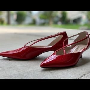 Zara Red Shoes